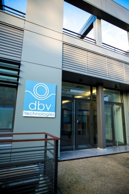 DBV-Technologies Viaskin products are being developed on premises near Paris