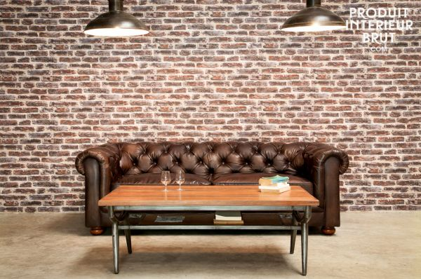 Chesterfield sofas are a perfect addition to your retro furniture collection
