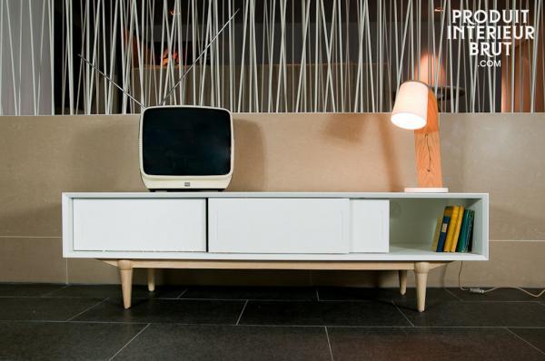 Designer-TV-Möbel im skandinavischen Stil